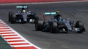 Pole Position für Rosberg
