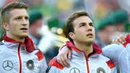 Marco Reus (links) und Mario Götze fehlen im Kader für die nächsten beiden Länderspiele.
