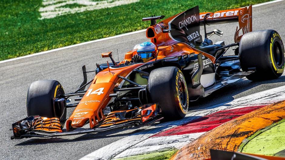 Kein Erfolgsmodell: Der McLaren-Honda der Saison 2017