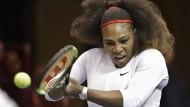 Serena Williams ist wieder da