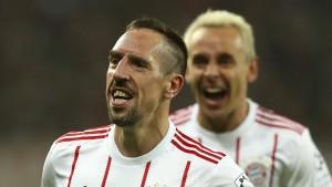 Ribéry bewirbt sich bei den Bayern