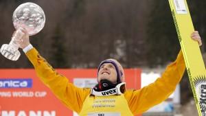 Der Weltmeister gewinnt den Weltcup
