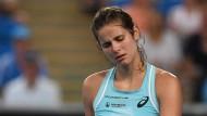 Bitteres Ausscheiden: Julia Görges verliert nach zuvor 15 Siegen in Serie bereits in Runde zwei