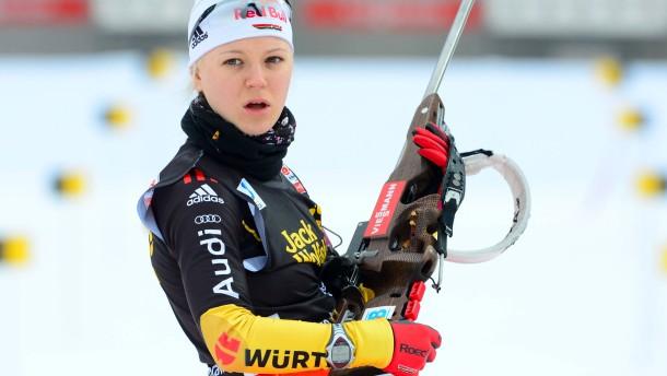 Miriam Gössner ist endlich wieder mittendrin