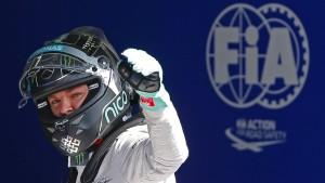 """Echt cool"": Rosberg hängt Hamilton ab"