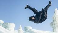 Einfach nur cool: Jason Paul in der Eiswelt von Harbin.