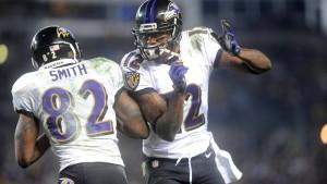 Vollmer mit Patriots gegen Baltimore