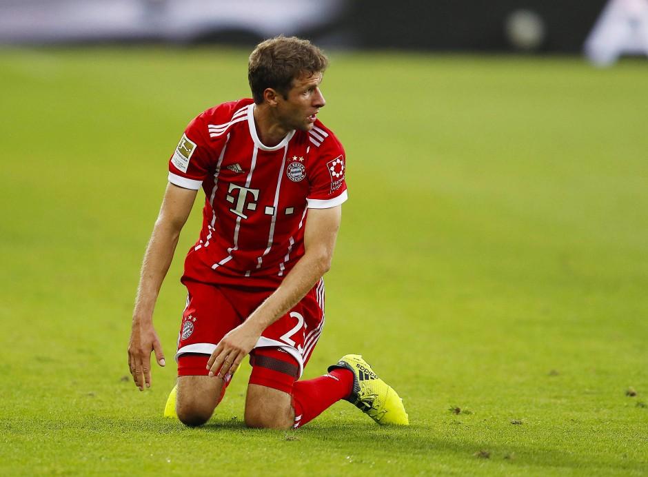 Thomas Müller spielte diesmal von Beginn an.