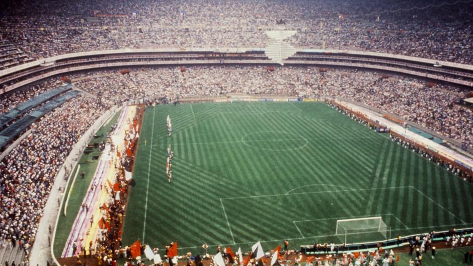 Weltberühmtes Fußball-Stadion: Azteken-Stadion in Mexiko-Stadt