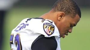 Ray Rice wegen Prügel-Attacke suspendiert