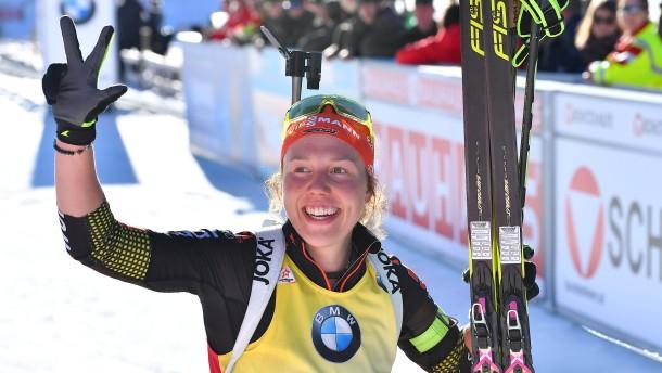 Die Biathlon-Königin