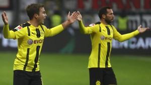 Dortmund verliert durch zwei Blitztore