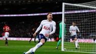 Blitztor: Tottenham trifft nach elf Sekunden gegen United