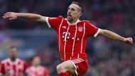 Nicht nur Franck Ribéry erlebte einen Höhenflug gegen Dortmund.