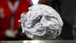 Die schicksalhafte Papierkugel