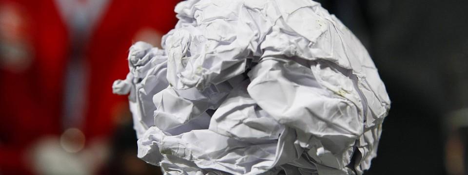hsv papierkugel