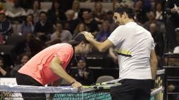 Federer mit einem ganz frechen Trick überlistet