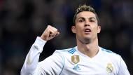 Cristiano Ronaldo ist bei Real Madrid wieder in Torlaune.