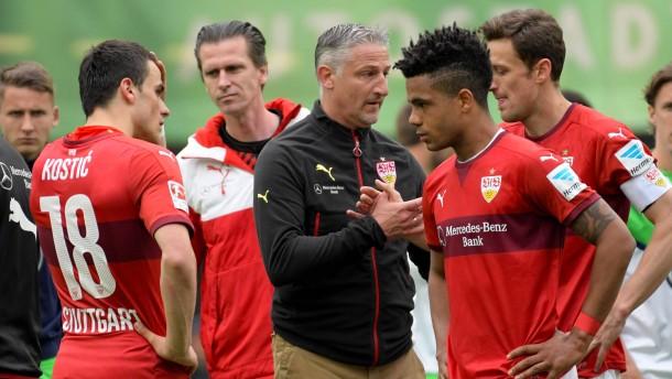 Der VfB Stuttgart wird mit dem Abstieg erlöst