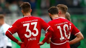 Kaiserslautern auf dem Weg in die dritte Liga