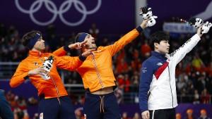 Usain Bolt verspricht Olympiasiegern Champagner