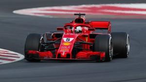 Warum qualmt der Ferrari von Vettel?