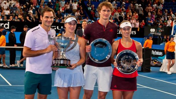 Roger Federer ist so frisch wie 2001