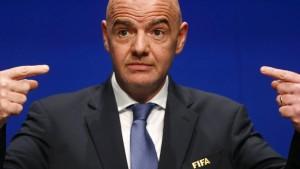 Riskantes Spiel der Fifa
