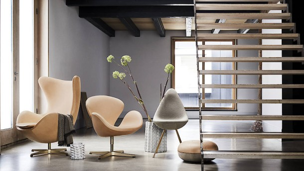 Ein Hauch von Gold für Arne Jacobsen