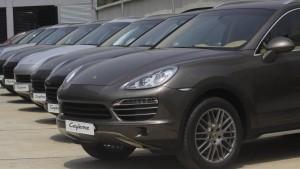 Zulassungsverbot für bestimmten Porsche Cayenne