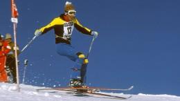 Skifahren durch die Brille von Ingemar Stenmark betrachtet