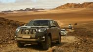 Weites Land: Der neue Toyota Land Cruiser auf Testfahrten in Namibia.