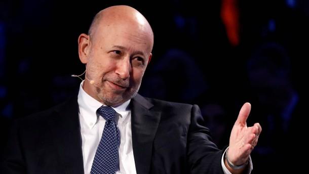 Goldman-Chef kritisiert Trumps Wirtschaftspolitik