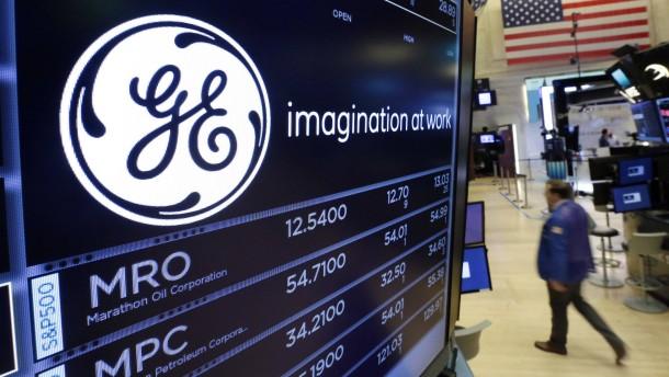 General Electric denkt über Aufspaltung nach