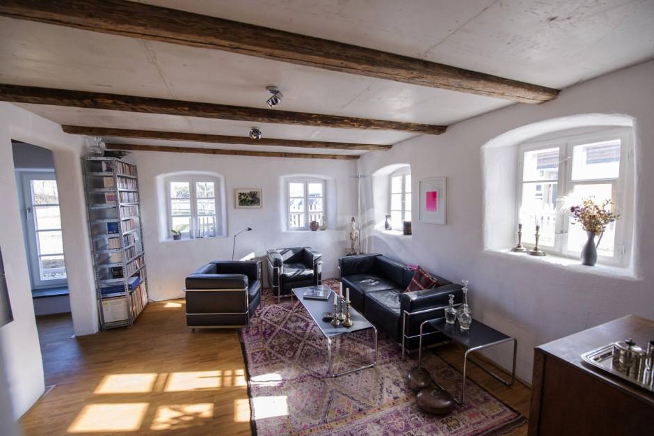 wohnen auf dem land. Black Bedroom Furniture Sets. Home Design Ideas
