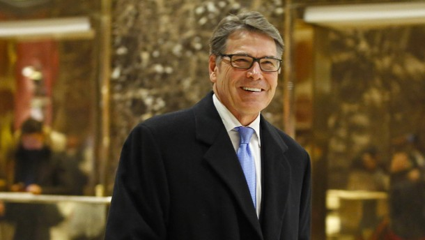 Rick Perry soll neuer Energieminister werden