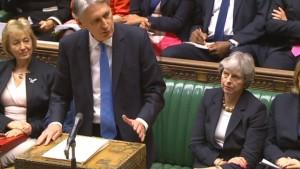 Britische Regierung legt Milliarden beiseite für den Brexit