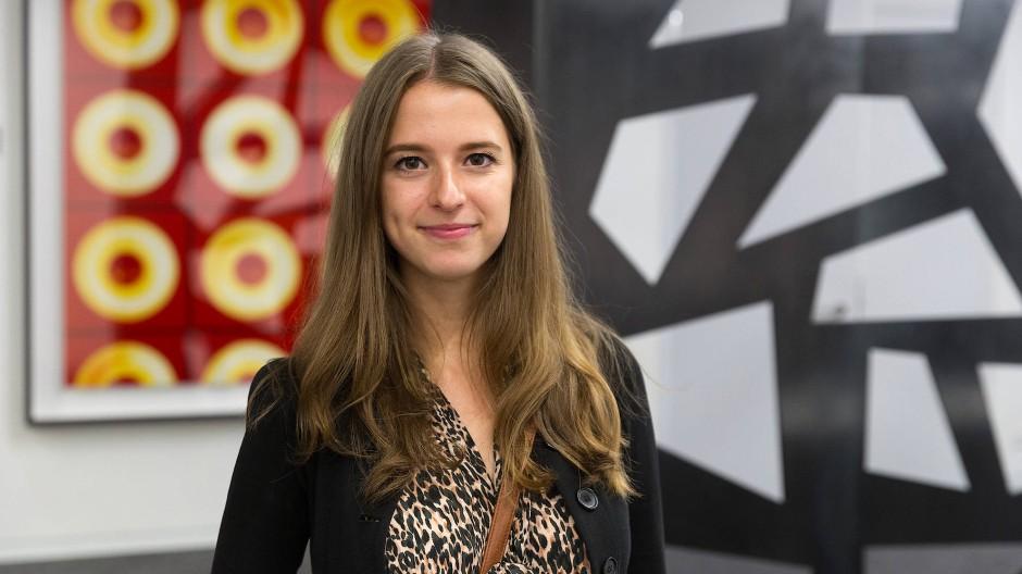 """Svenja Andresen hat durch das Programm """"Stück für Stück"""" gelernt, was ihr liegt."""