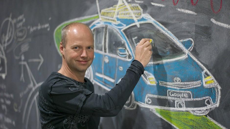 Sebastian Thrun gründete die Internet-Lernplattform Udacity