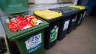 Resteverwertung: Das Geschäft mit dem Müll bringt viel Geld ein.