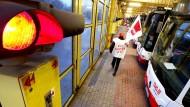 In Duisburg streiken die Busfahrer.