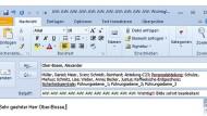 Kann heikel sein: Mails weiterleiten