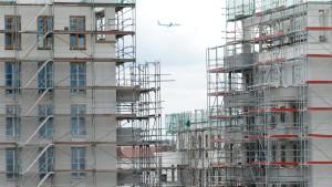 Jedes Jahr 400.000 neue Wohnungen benötigt