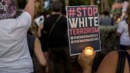 Erinnerung an die Opfer von Charlottesville