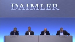 Trotz Rekordkurs bangt Daimler vor der Zukunft