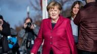 Angela Merkel scheint hauptsächlich ein Interesse zu haben: Machterhalt