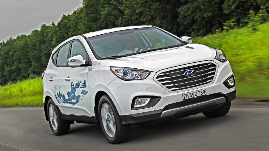 Der Hyundai ix35 Fuel Cell