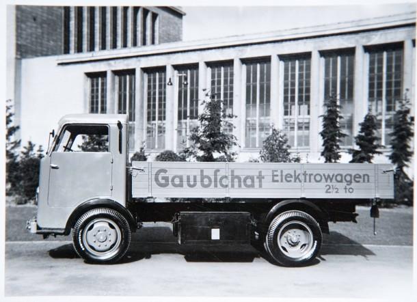 Historische Elektroautos im Technikmuseum