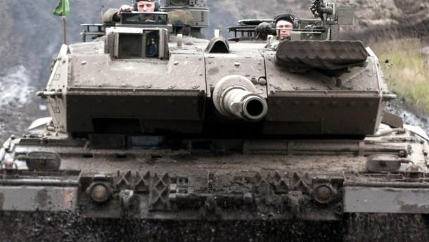 Rheinmetall-Aktie profitiert vom Leopard-Auftrag