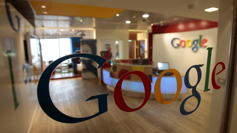 Google - hier in Tel Aviv